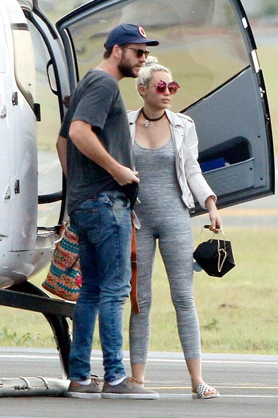 Liam Hemsworth And Miley Cyrus In Brisbane, Australia   Tom + Lorenzo