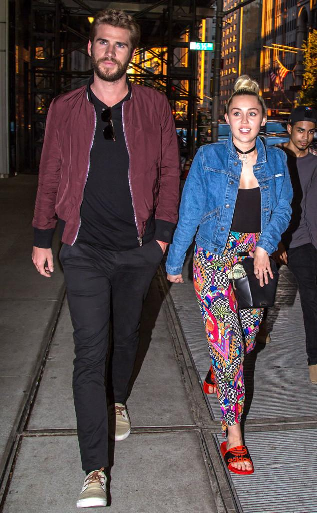 Liam Hemsworth Defends His Engagement To Miley Cyrus   E! News