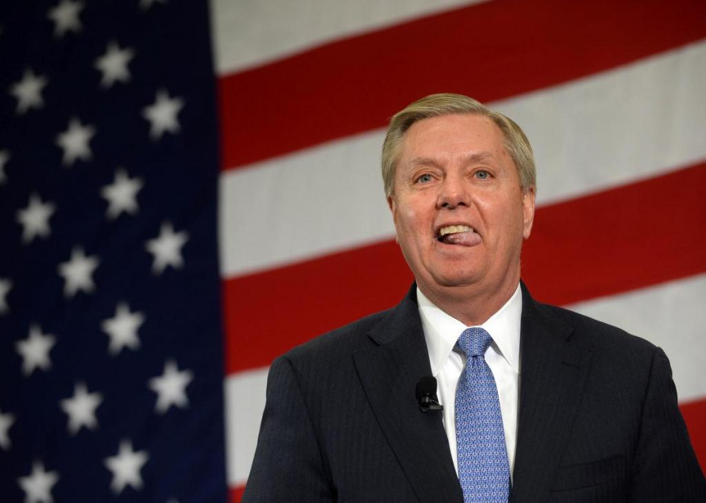 Lindsey Graham Tells GOP Donors To Unite Behind Donald Trump.