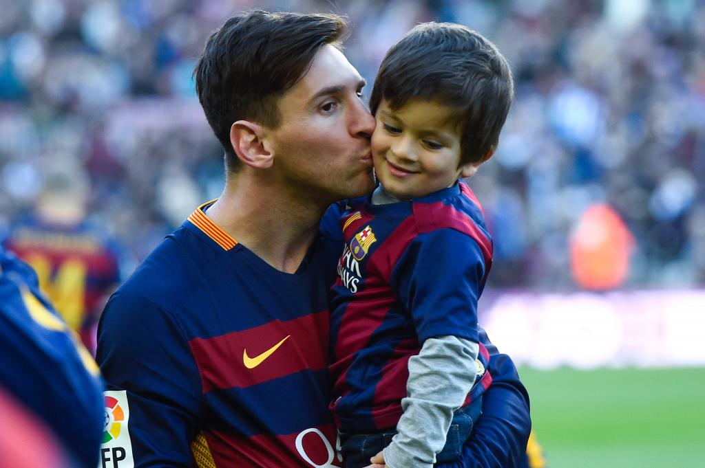 Lionel Messi's Son Thiago Set To Join Barcelona's FCBEscola Youth