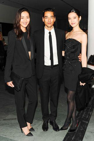 Liu Wen, Tenzin Wild, And Tao Okamoto.   WSJ Innovation Awards