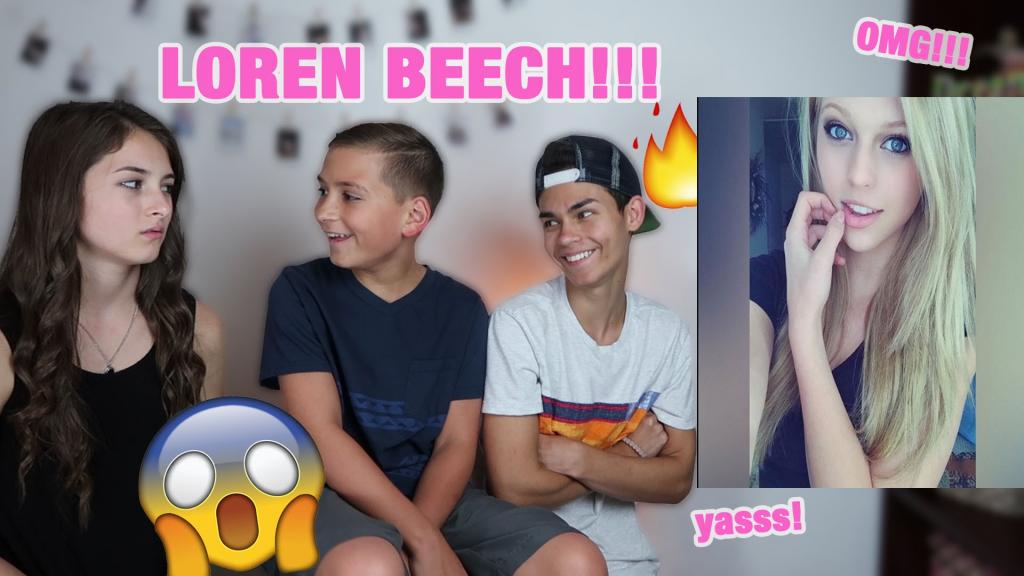 LOREN BEECH FIRST AND LAST 10 MUSICAL.LYS (REACTION) - YouTube