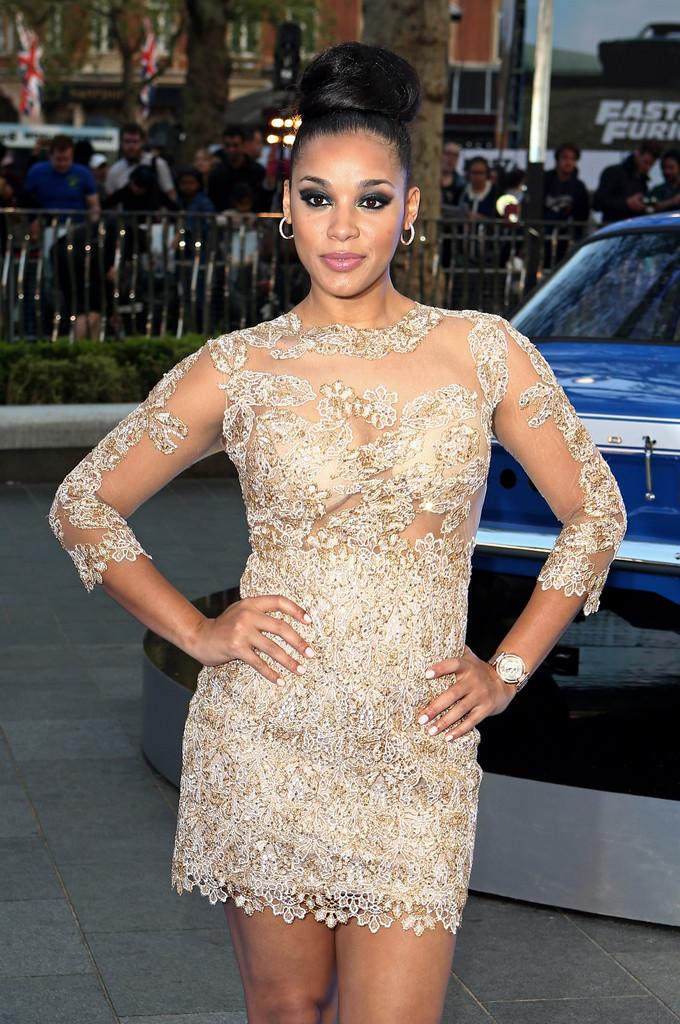 Lyndriette Kristal Smith Pictures 'Fast & Furious 6' Premieres In