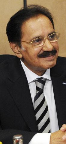 Makhdoom Muhammad Ameen Faheem, President PPP Parliamentarians MNA