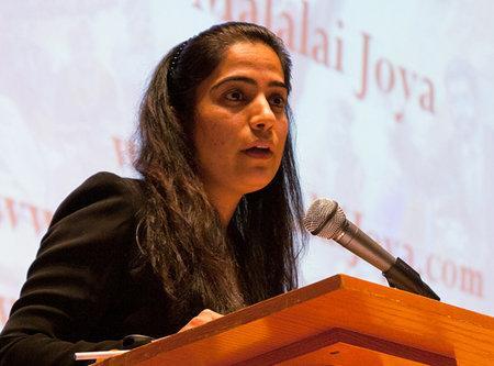 Malalai Joya: US Is The God-father Of Islamic