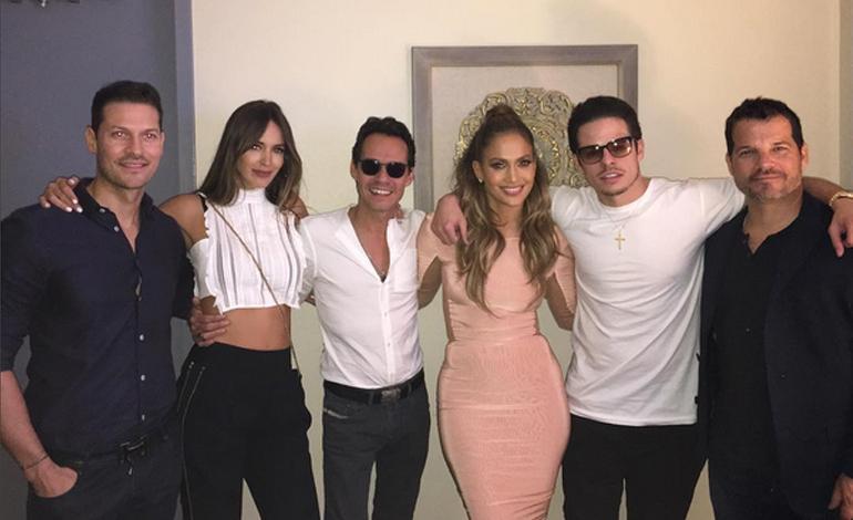 Marc Anthony, Shannon De Lima Attend Jennifer Lopez 'All I Have
