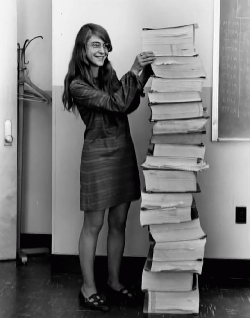 Margaret Hamilton: Lead Software Designer, Apollo Missions