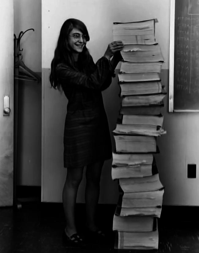 Margaret Hamilton, Lead Software Engineer Of The Apollo Project