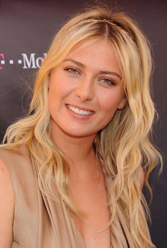 Maria Sharapova Favorite Things Color Food Music Book Hobbies