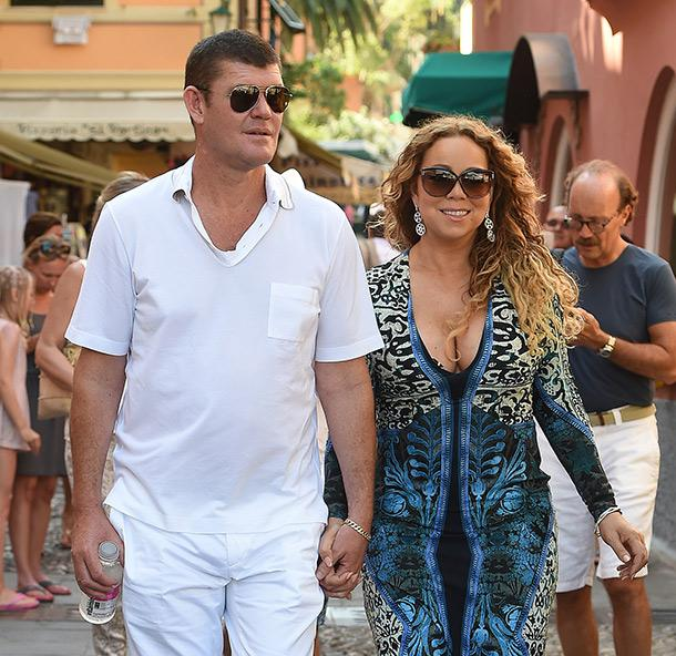 Mariah Carey 'lucky' To Be Dating James Packer