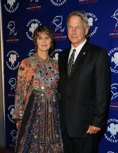 "Mark Harmon And Pam Dawber.The Former ""Mork And Mindy"" Star Wed"