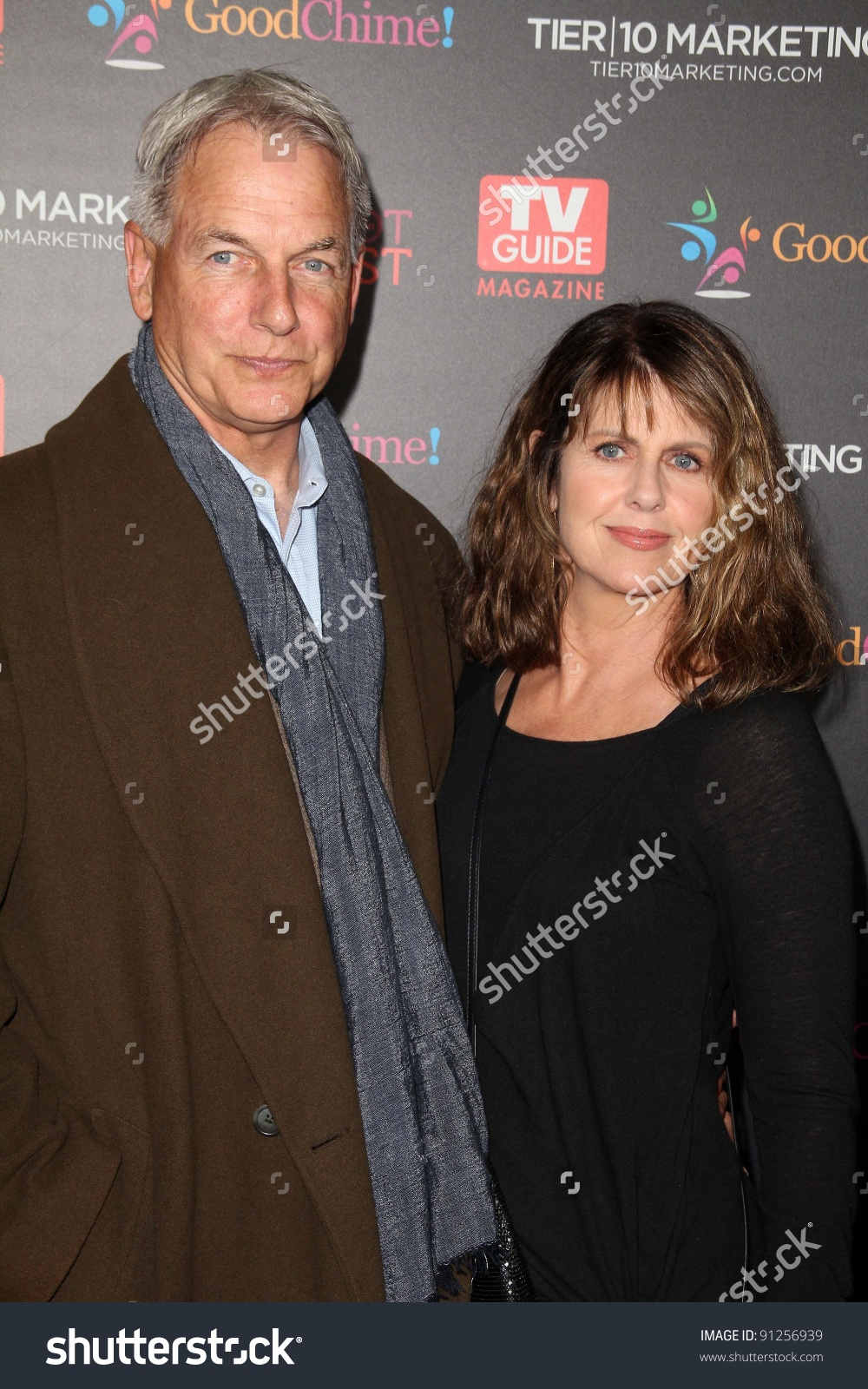 Mark Harmon, Pam Dawber At Tv Guide Magazine'S Annual Hot List