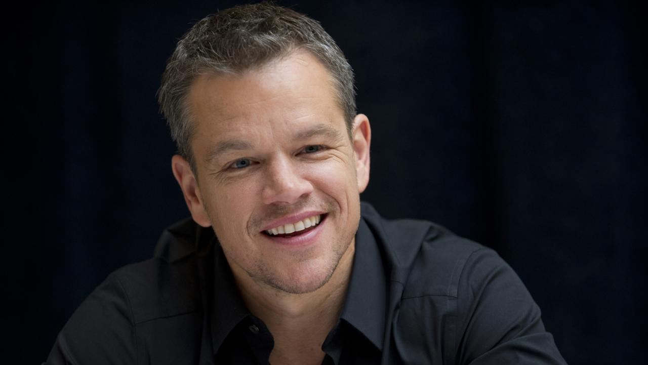Matt Damon: 'the Bourne Films Saved My Life'
