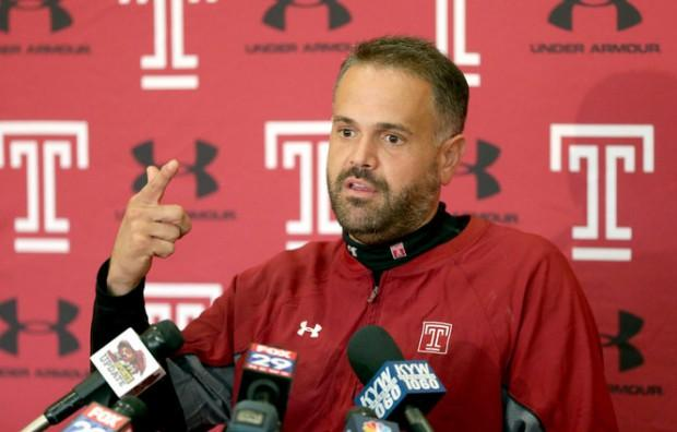 Meet Temple's Matt Rhule, The Former Giants Coach Who Could Be