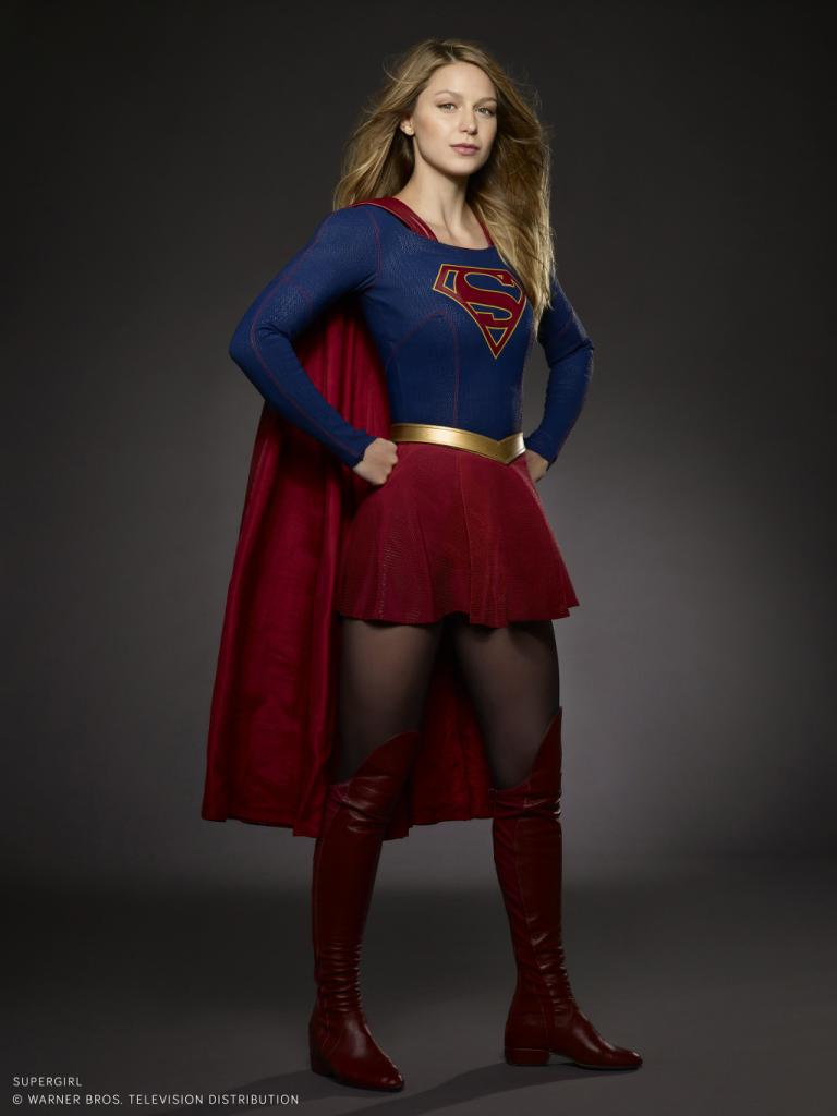 Melissa Benoist As Supergirl     Bless My Bag