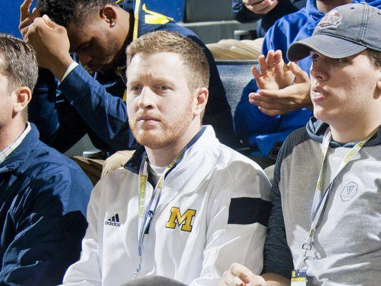 Michigan Assistant Jay Harbaugh Recruiting Prospect's Girlfriend?