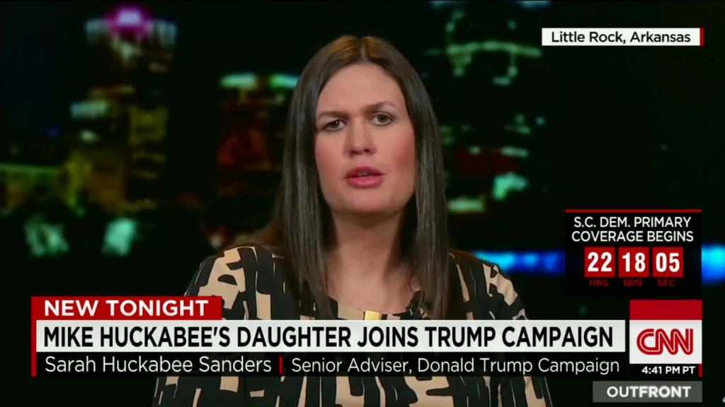 Mike Huckabee's Daughter: Negative Tone In GOP Race Helps Clinton
