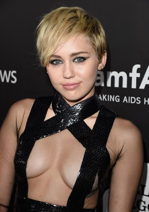 Miley Cyrus Debuts Long Bob On Instagram: Hair Evolution : Beauty