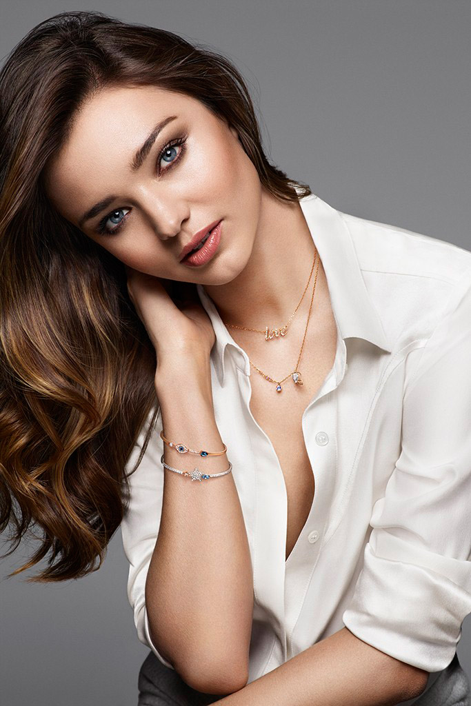 Miranda Kerr Collaborates With Swarovski On Jewelry Collection