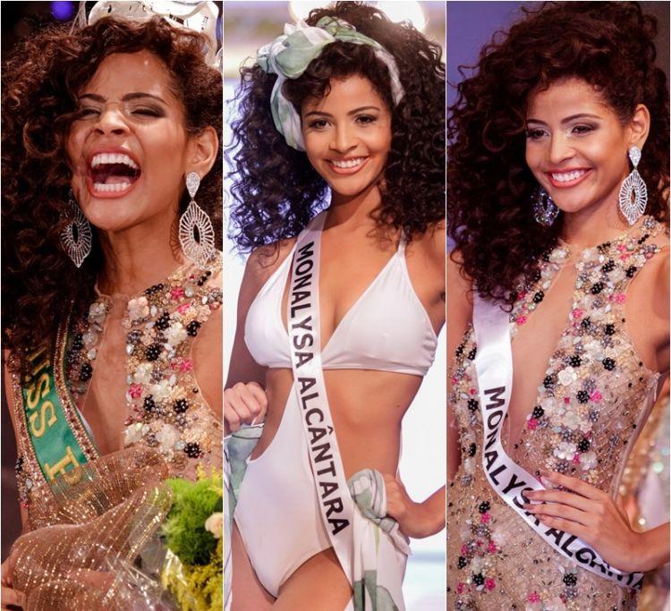 Monalysa Alc  Ntara, Negra E De Apenas 18 Anos,    Eleita Miss Piau