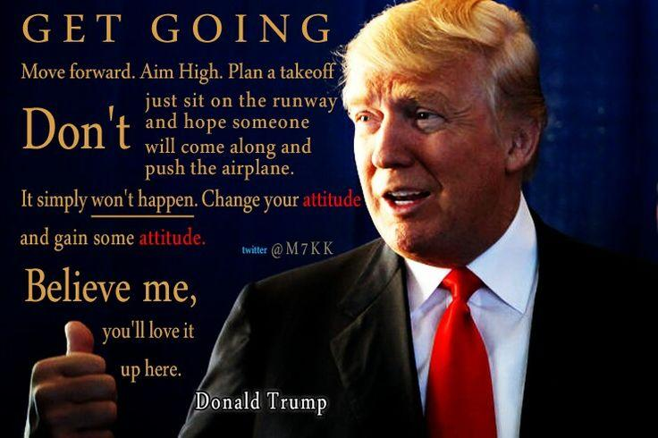 Motivational Quotes, Donald Trump And Donald O'connor On Pinterest