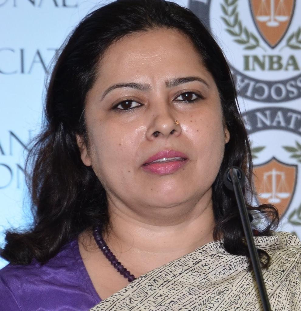 Ms. Meenakshi Lekhi, National Spokesperson, Bhartiya Janta Party