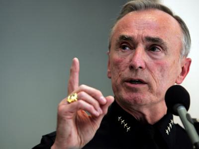 New York, NY - Bill Bratton Would Consider City's Top Cop Job Again