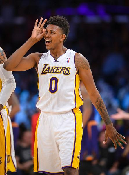 Nick Young:    I Believe I Deserve More      Inside The Lakers