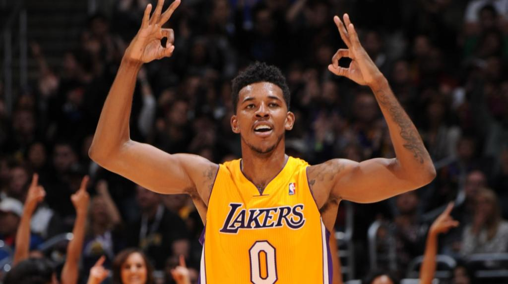 Nick Young Steals Ball From Teammate Then Hits A Game Winner.
