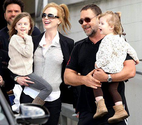Nicole Kidman's Daughters Faith, 2, And Sunday, 4, Are Getting So