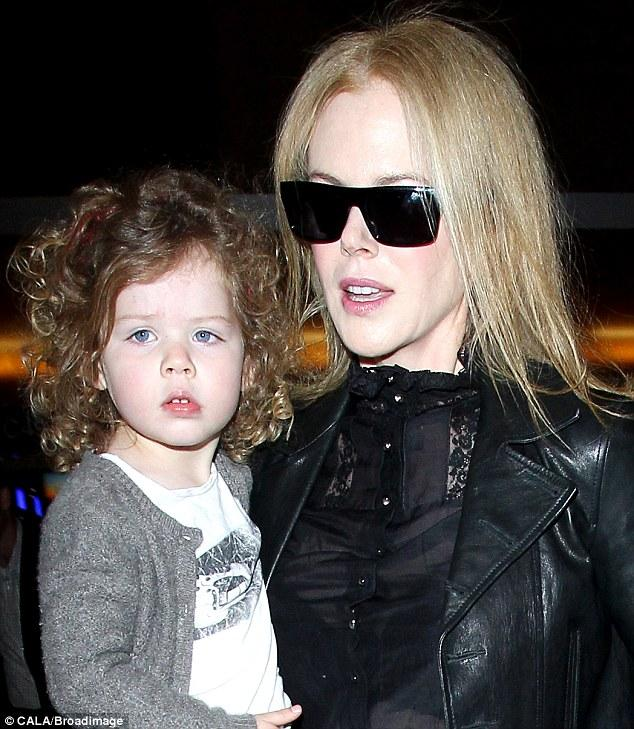 Nicole Kidman Calls Sunday Rose Her 'oldest Daughter'   Daily Mail