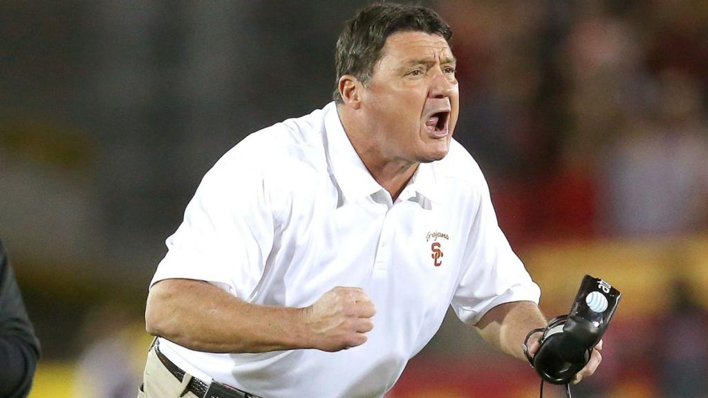 Orgeron: USC Is Still 'the Best Place In The World' To Play, Coach