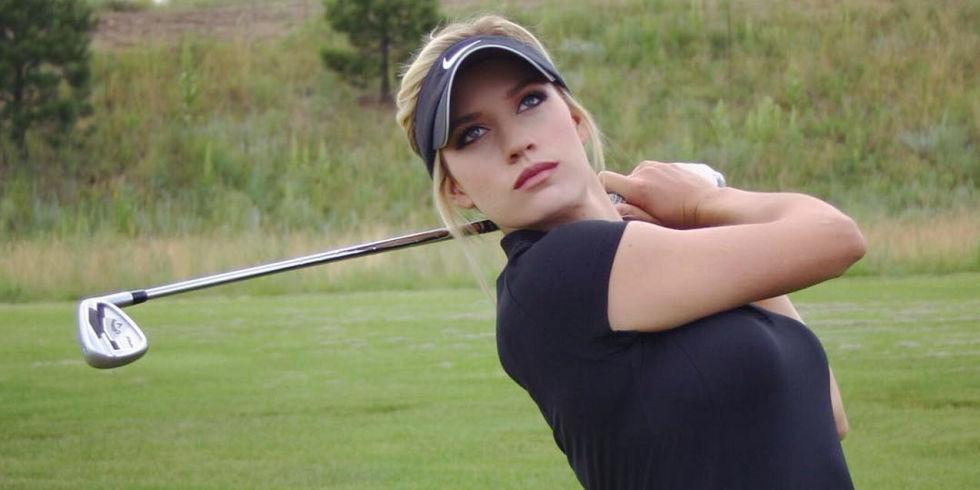Paige Spiranac Golfing Interview - Paige Spiranac Instagram Photos