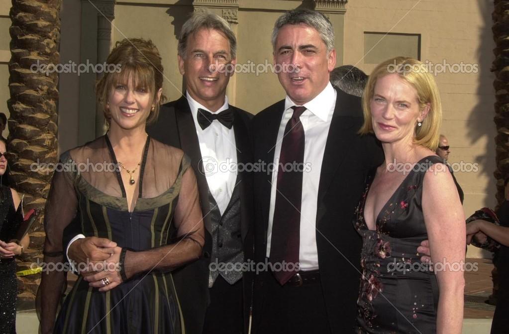 Pam Dawber, Mark Harmon, Adam Arkin And Phyllis Lyons     Stock