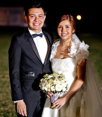 Paolo Valenciano - Samantha Godinez Wedding Photos   ShowbizNest