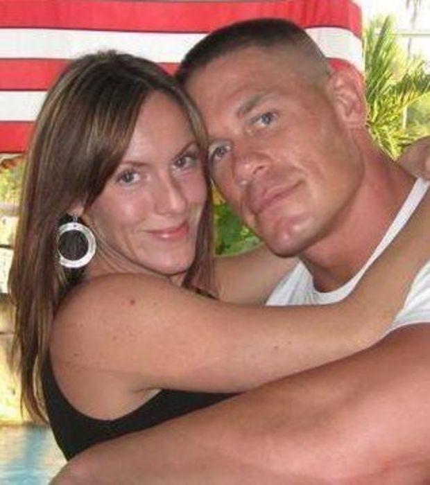 Photo : John Cena Et Sa Femme Elizabeth Huberdeau