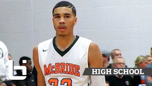 POY Contender Jayson Tatum Combines Highlight Reel Dunks And Flashy