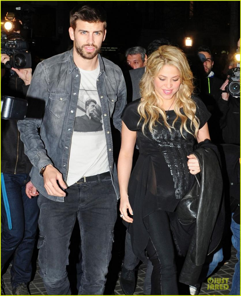 Pregnant Shakira & Gerard Pique: 'The Wind And Random' Book