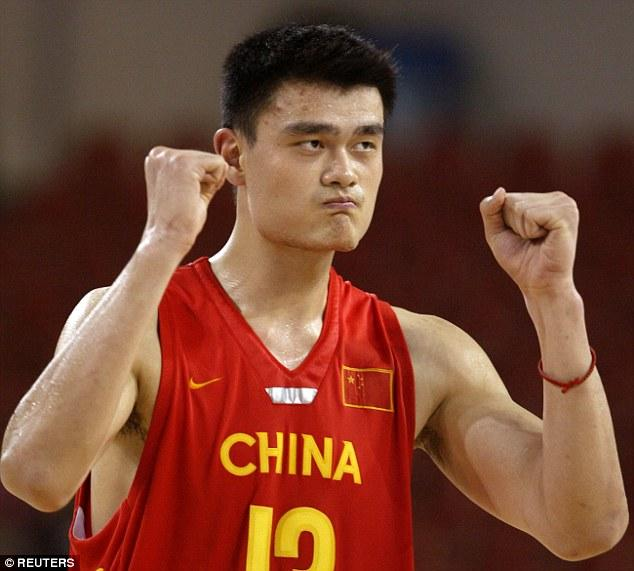 Prince William's 7ft 6in Giant Yao Ming Was Specially Bred To