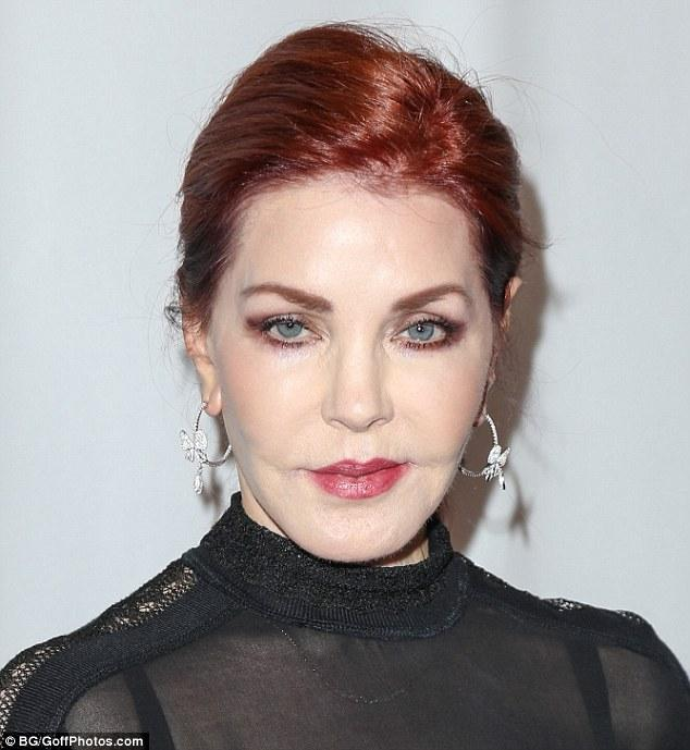 Priscilla Presley In A Black Ensemble At Last Chance For Animals