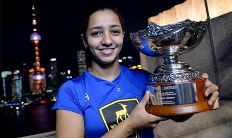 Q&A: Egyptian Squash Champion Raneem El-Weleily Speaks About Being