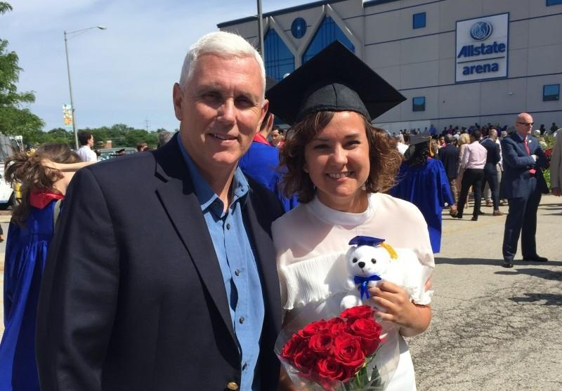 Q&A With Charlotte Pence, Daughter Of GOP VP Nominee - The DePaulia