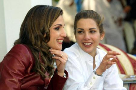 Queen Rania Of Jordan And Princess Haya Bint Al Hussein Of Jordan
