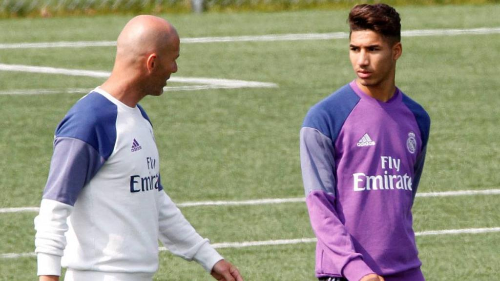 Real Madrid   Who Is Zidane's Copa Del Rey Call Up, Achraf Hakimi