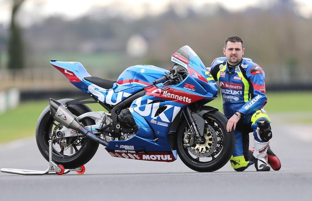 Roads: Michael Dunlop Joins Bennetts Suzuki Dream Team   MCN