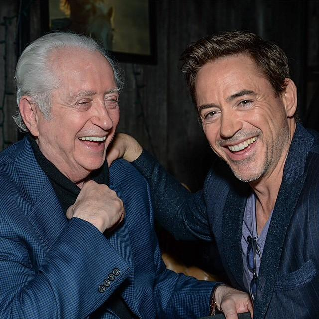Robert Downey Sr & Jr Together At Cinefamily's Fundr