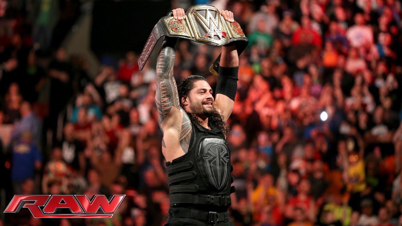 Roman Reigns Vs. Sheamus - WWE World Heavyweight Championship Match