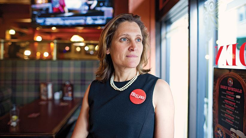 Rookie MP Chrystia Freeland Refuses To Get Cynical