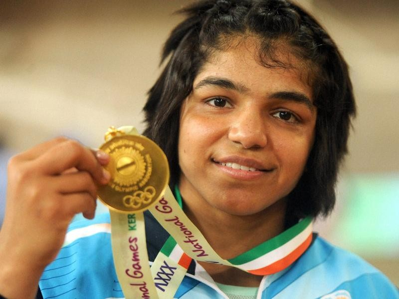 "Sakshi Malik - ""Foreign Wrestlers In Team Inspire Me To Do Better"""