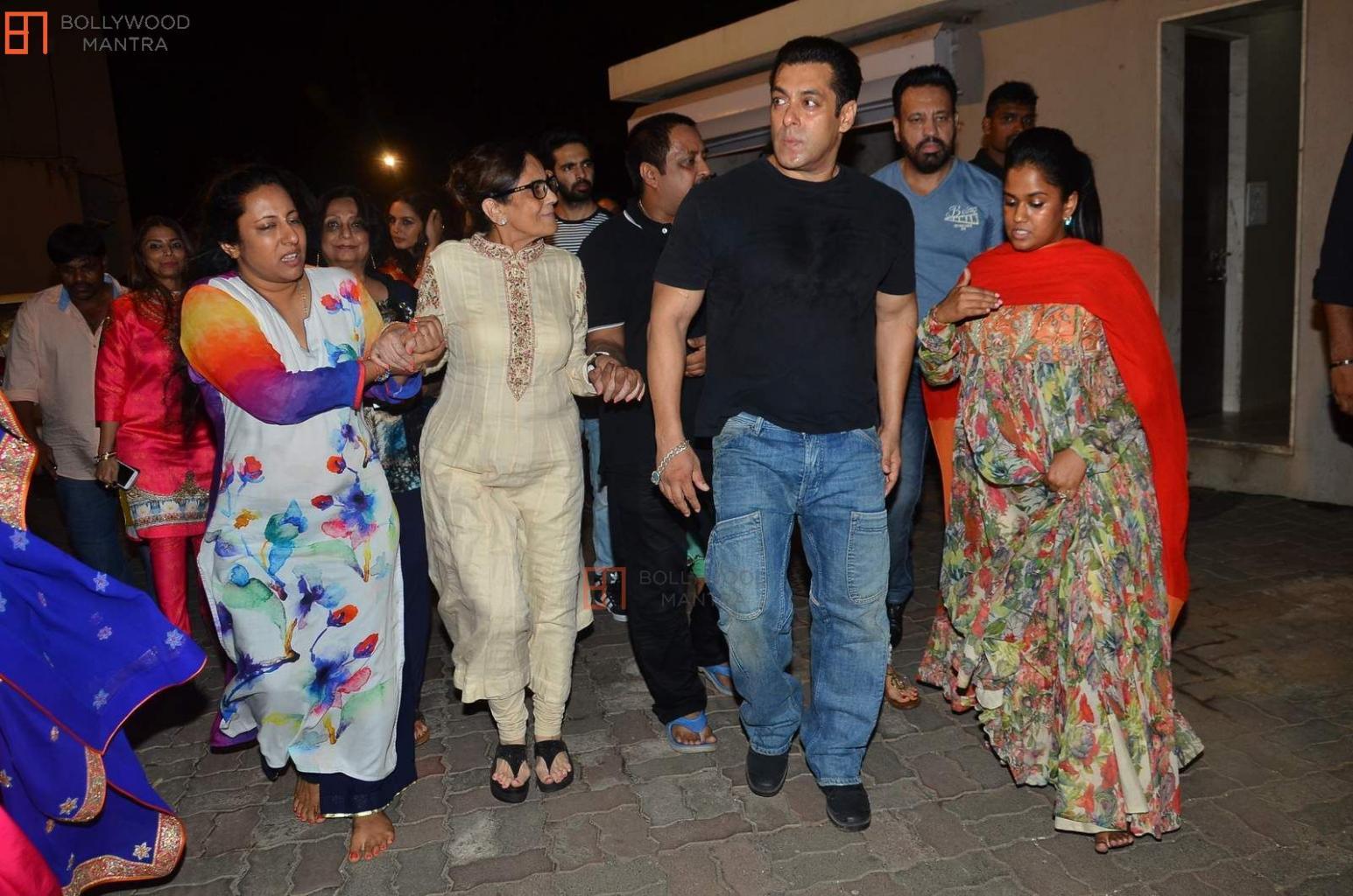 Salman Khan   Shera   Sushila Charak   Aishwariya & Vidya